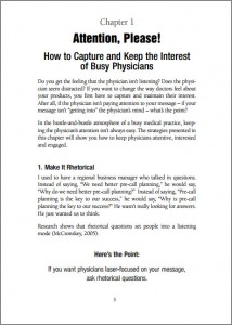 How to Capture Physician Attention (Book Chapter)